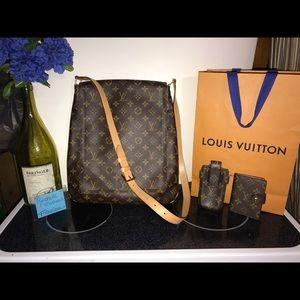 Vintage Mint GM Musette Salsa Louis Vuitton